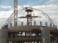 TAKSIM - Taksim Caminin Ana Kubbesinin Yapımına Başlandı