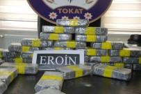 YOLCU OTOBÜSÜ - Tokat'ta 17 Kilogram Eroin Ele Geçirildi