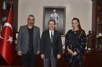 TÜRKLER - Türk-Alman Kültür Turizm Derneği'nden Ataç'a Ziyaret
