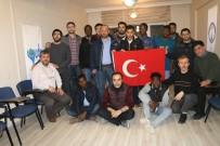YABANCI ÖĞRENCİLER - Yabancı Öğrenciler, 'Zeytin Dalı' İçin Hatim İndirdi