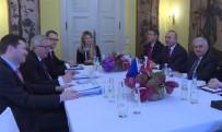 DIŞİŞLERİ BAKANI - Yıldırım, AB Komisyonu Başkanı Juncker İle Görüştü