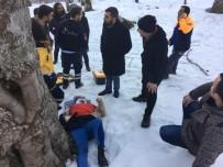100 Metre Yükseklikten Aşağıya Yuvarlanan Üniversite Öğrencisi AFAD Ekiplerince Kurtarıldı