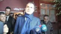 ŞEHİT AİLESİ - AB Bakanı Çelik, Otobüste Hakarete Uğrayan Şehit Annesini Ziyaret Etti
