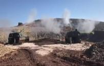 Afrin'deki PYD Hedefleri Vurulmaya Devam Ediliyor