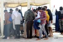 KÜÇÜKKÖY - Ayvalık'ta 55 Kaçak Göçmen Yakalandı