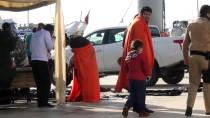 CUNDA ADASı - Balıkesir'de 55 Yabancı Uyruklu Yakalandı