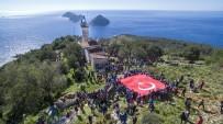MAVIKENT - Bin 500 Kişi Tarihi Gelidonya Feneri'ne Yürüdü