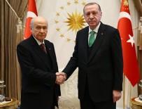 RECEP TAYYİP ERDOĞAN - Cumhurbaşkanı Erdoğan, Bahçeli'yi kabul etti