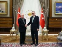 Cumhurbaşkanı Erdoğan MHP lideri Bahçeli ile görüşecek
