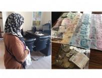 Dilencinin üzerinden 6 bin 210 lira çıktı