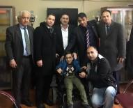 AKÜLÜ SANDALYE - Engelli Ahmet'in Hayali 'Uzlaşma' İle Gerçekleşti
