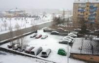 KAR YAĞıŞı - Erzurum'da Kar Yağışı