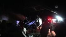 ÖMER TORAMAN - Yanan araç 5 kişiye mezar oldu