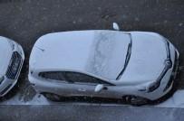 KAR YAĞıŞı - Kars'ta Bahar Havası Yerini Kar Yağışına Bıraktı