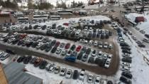 KAR YAĞıŞı - 'Karsız Kış'a Rağmen Kartalkaya'ya Yoğun İlgi