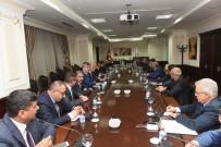 RESSAM - Malazgirt Ziraat Odası Başkanı Kılıç, Bakan Fakıbaba'yla Görüştü