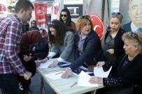KAZIM ÖZALP - MHP'li Kadınlardan İmza Kampanyası