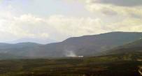 Obüsler Darmık Dağındaki Terör Mevzilerini Bombaladı
