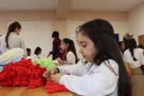 SOSYAL SORUMLULUK PROJESİ - Ortaokul Öğrencilerinden, Mehmetçiklere Atkı-Bere
