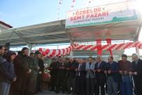 PAZARCI ESNAFI - Özbelde Semt Pazarı Hizmete Açıldı