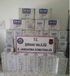 Şırnak'ta 6 Bin 860 Paket Kaçak Sigara Ele Geçirildi