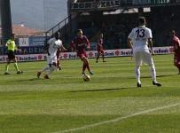 KALE ÇİZGİSİ - Spor Toto Süper Lig Açıklaması Kardemir Karabükspor Açıklaması 0 - Teleset Mobilya Akhisarspor Açıklaması 1 (İlk Yarı)