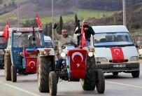 ASKERLİK ŞUBESİ - Traktörlerle Askerlik Şubesine Gelip Afrin'e Gitmek İstediler