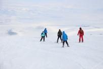 EMIN BILMEZ - Yalnızçam'da Kristal Kar Üzerinde Kayak Keyfi