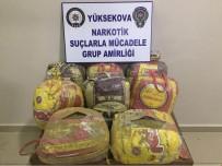 HAKKARI VALILIĞI - Yüksekova'da 95 Kilo Esrar Ele Geçirildi