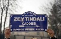TANDOĞAN - ABD Büyükelçiliğinin Önündeki Cadde Tabelası 'Zeytin Dalı' Olarak Değiştirildi