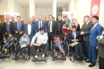 VİRANŞEHİR - Belediye Başkanı Nihat Çiftçi, Engelliler İle Bir Araya Geldi