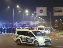ZIRHLI ARAÇLAR - Cumhurbaşkanlığı Külliyesi önünde bariyerlere çarpan sürücü gözaltına alındı