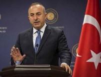 MEVLÜT ÇAVUŞOĞLU - Dışişleri Bakanı Çavuşoğlu'ndan Arap Birliği Genel Sekreteri'ne tepki