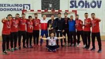 FATMA ŞAHIN - Gaziantep Polisgücü, Namağlup Avrupa Şampiyonu