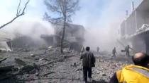 RUSYA - GÜNCELLEME 3- Esed Rejiminin Doğu Guta'ya Saldırılarında 58 Sivil Öldü