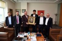 HIZMET İŞ SENDIKASı - Hak-İş'den Kayseri OSB'ye 'Hayırlı Olsun' Ziyareti