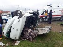 GÜLLÜCE - Korkunç Kazada Can Pazarı Açıklaması 1 Ölü, 3 Yaralı