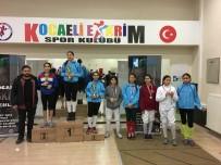 ÖMER KıLıÇ - Minik Sporcular, Eskrim Şenliği'nde Kıyasıya Yarıştı