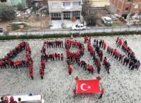 Somalı Öğrenciler Afrin'e 'Komando Andı' İle Destek Oldu