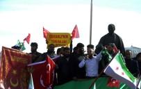 ÖZGÜR SURİYE ORDUSU - Suriyeliler Zeytin Dalı Hareketine Destek Verdi