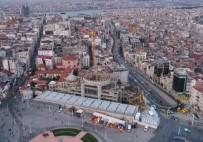 TAKSIM - Taksim Camii Kubbesine Kavuşuyor