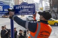 TANDOĞAN - 'Zeytin Dalı Caddesi' Tabelası Asıldı