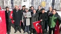 KAMU ÇALIŞANLARI - 'Afrin'e Destek Platformu' Üyelerinden Gönüllü Askerlik Başvurusu