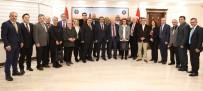 DICLE ÜNIVERSITESI - Akademisyenlerden Başkan Atilla'ya Ziyaret