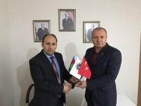 ATEŞ ÇEMBERİ - Asimder Başkanı Gülbey, MHP İl Başkanı İçer'i Ziyaret Etti