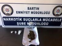 KARAÇAY - Bartın'da Uyuşturucu Operasyonu 3 Gözaltı