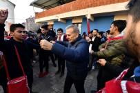 AZIZ KOCAOĞLU - Başkan Kocaoğlu Asker Uğurladı