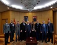 SEYFETTİN YILMAZ - Başkan Sözlü'den MHP Lideri Bahçeli'ye Ziyaret