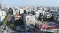 OKUL BİNASI - Büyükşehir, THK Binasının Yıkımına Başladı
