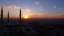SELIMIYE - Edirne'de Doyumsuz Gün Batımı